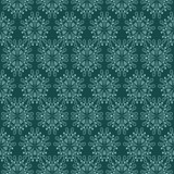 green floral mosaic secession lighted pattern motive poster