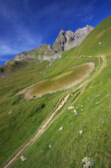 paysage montagnard - haute tarentaise