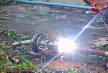 outdoor welder fixing instrumnet