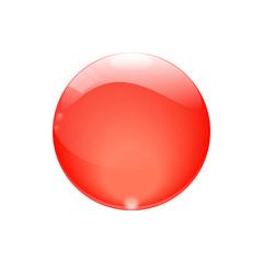 Glaskugel rot