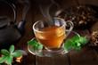 tazza di thè caldo