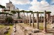 Fori Imperiali and Monumento a Vittorio Emanuele 2 at Roma - Ita