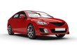Sports Car Red 2