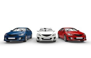 Three Cars Showroom