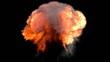 Feuerball Explosion