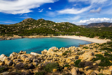 Spaggia Cala Cipolla - Chia - Sardegna