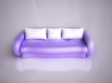 Comfortable Sofa in 3D