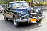 Classic american car in Havana. poster