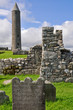 Devenish Island Monastic Site, Co.Fermanagh, Northern Ireland.