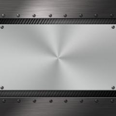 Fond métallique - Concept