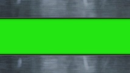 Metal Door, with Green Screen - HD1080