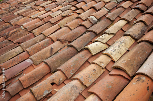 Old Tile Roof