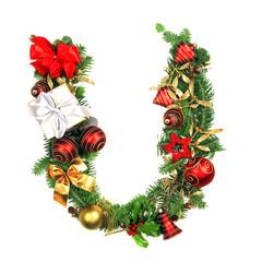 Christmas Alphabet Letter