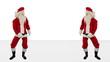Santa Claus Dancing against White, Dance 7
