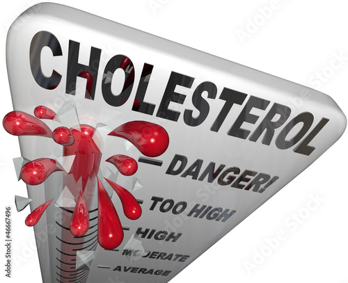 Cholesterol Dangerous Level Measuring Risk Heart Disease Stroke