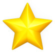 Single yellow star