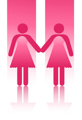 Mariage homosexuel entre femmes