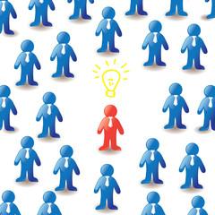 Concept, mass media, virus marketing, idea