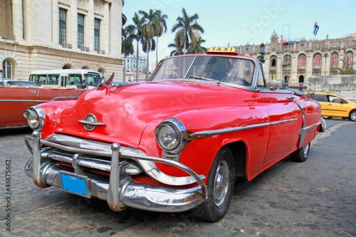 Classic Oldsmobile  in Havana. - 46675662