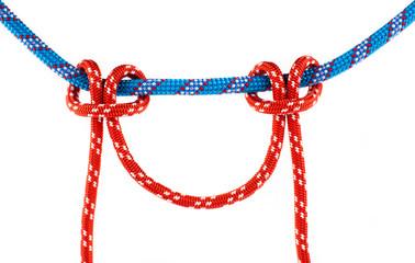 marine  knots isolated on white