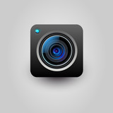 Fototapety Camera application icon