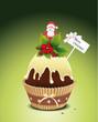 Cupcake zur Weihnachtszeit