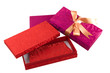 A luxury purse in a beautiful gift box