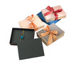 luxury notebook or diary in a beautiful boxes