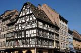 France, La Place de la Cathedrale in Strasbourg