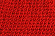 Red Crochet Background