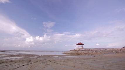low tide in bali