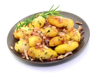 Teller, Kartoffeln