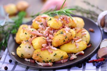 Kartoffeln, Speck