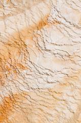 zolfo a Mammoth Hot Springs a Yellowstone