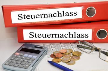 Steuernachlass
