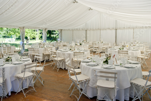 Wedding Marquee - 46687606