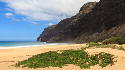 Polihale State Park in Kauai