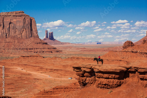 Horseback Rider @ Monument Valley