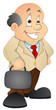 Businessman - Cartoon Character - Vector Illustration