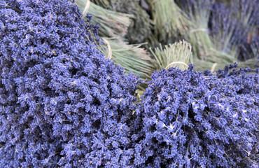 Sträuße mit Lavendel