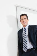 Portrait eines attraktiven Managers