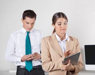 Datenaustausch zwischen Tablet PC und Smartphone
