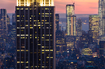 skyscrapers in New York