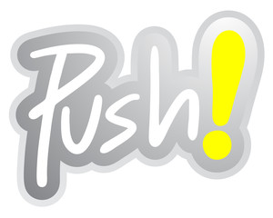 Push sticker