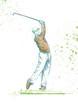 golf player (original full sized drawing)