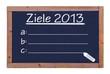 Ziele 2013 Tafel  #121112-004