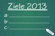 Ziele 2013 Tafel  #121112-003