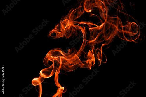 Leinwandbild Motiv Flame