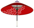 紅葉の和傘