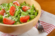 Arugula Salad with Tomatoes and Shaved Almonds